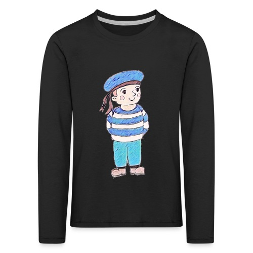 Matrosenjunge - Kinder Premium Langarmshirt