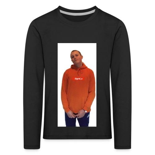 Sigrid_uPhotoTee - Premium langermet T-skjorte for barn