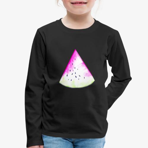 Pastèque - T-shirt manches longues Premium Enfant
