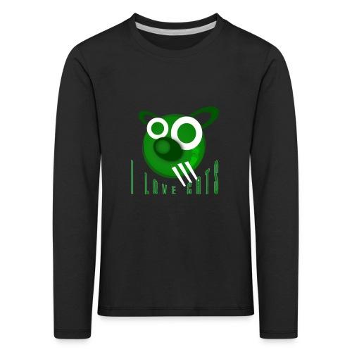 I Love Cats - Kids' Premium Longsleeve Shirt