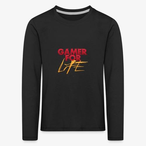 Gamer for Life Tshirts - Kids' Premium Longsleeve Shirt