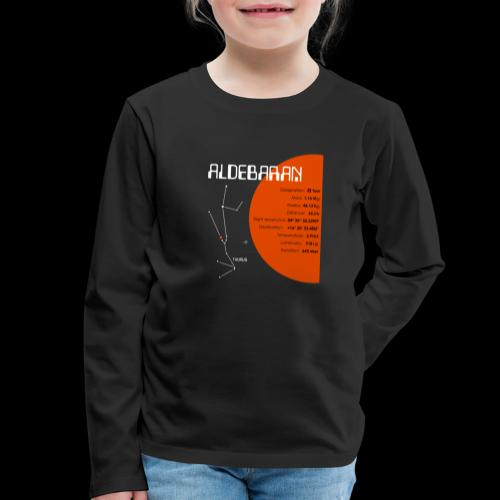 Aldebaran - Kinder Premium Langarmshirt