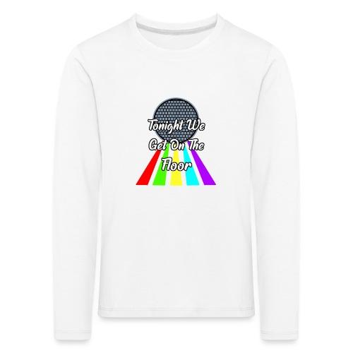 Dance Party - Kinder Premium Langarmshirt