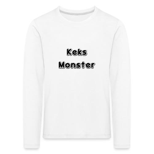 Keks Monster - Kinder Premium Langarmshirt
