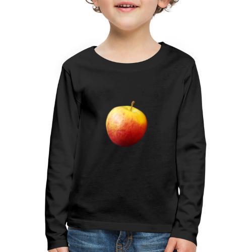 rood fruit met een naam - Kinderen Premium shirt met lange mouwen