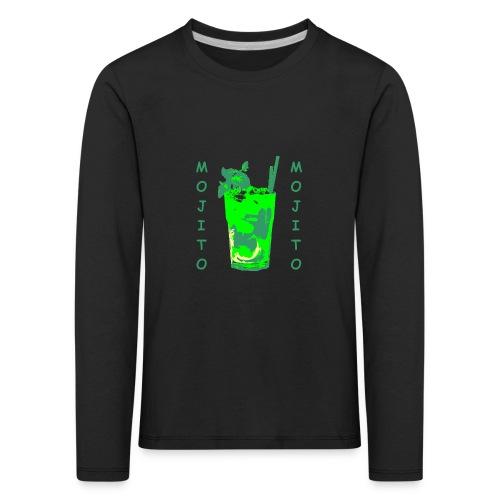 Mojito bicchiere colorato - Maglietta Premium a manica lunga per bambini