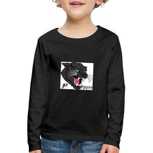 BR Riders - Børne premium T-shirt med lange ærmer