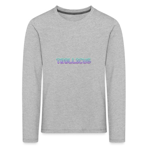 cooltext280774947273285 - Kids' Premium Longsleeve Shirt