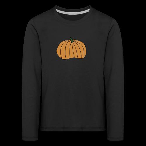 Gresskar Halloween Collection - Premium langermet T-skjorte for barn