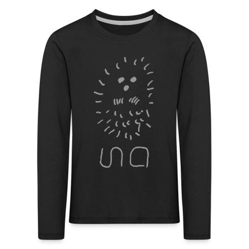 ina_logo - Kinder Premium Langarmshirt