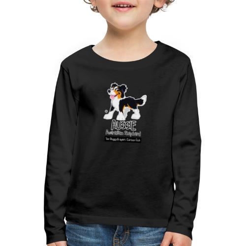 Aussie CartoonClub - Tricolor - Kids' Premium Longsleeve Shirt