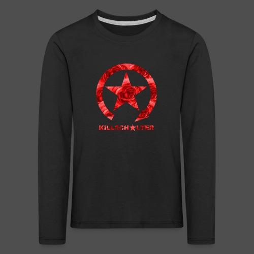 KILLSCHALTER Logo Roses - Koszulka dziecięca Premium z długim rękawem