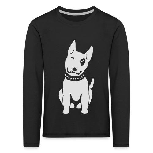 Bullterrier comic - Kinder Premium Langarmshirt