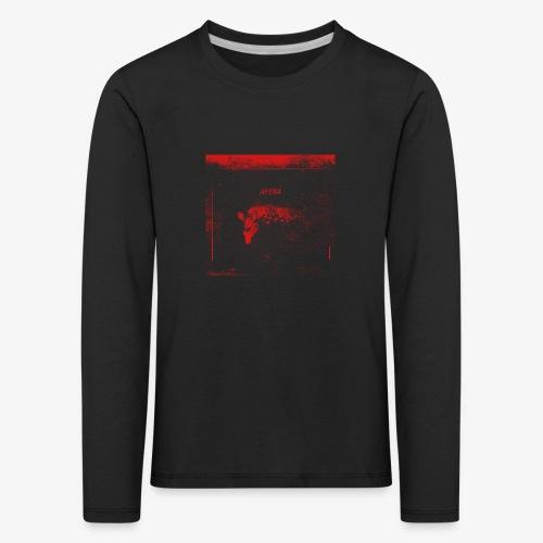 Hyena Red - Långärmad premium-T-shirt barn