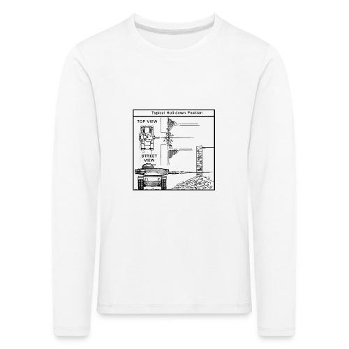 W.O.T War tactic, tank shot - Kids' Premium Longsleeve Shirt
