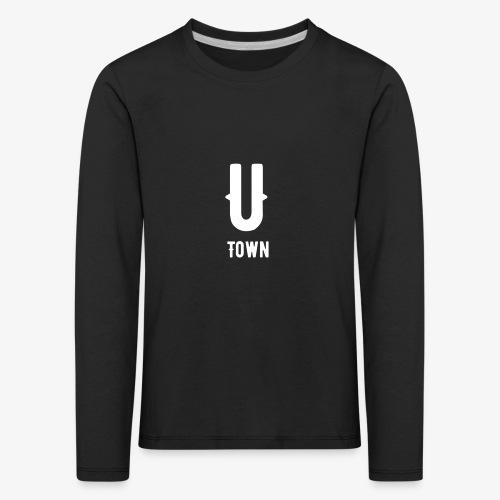 U-Town Kinder T-Shirt - Kinder Premium Langarmshirt