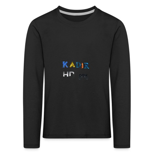Kadir HD Pullover - Kinder Premium Langarmshirt