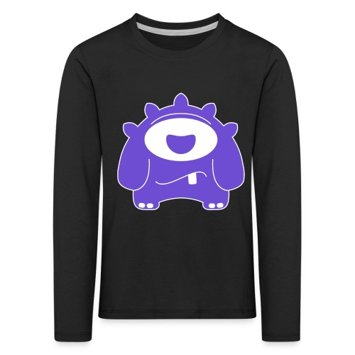Main character design from the smashET game - Kids' Premium Longsleeve Shirt