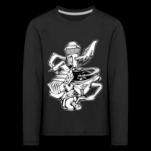 The Real HipHop Elements - Kinder Premium Langarmshirt