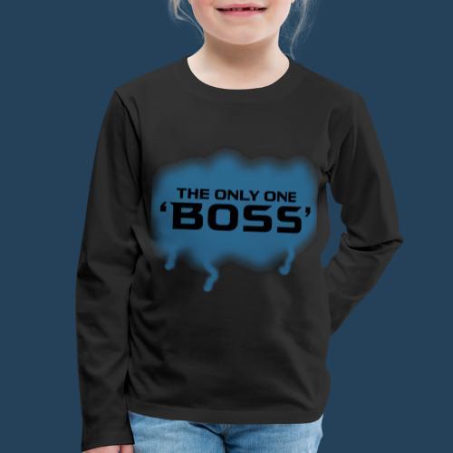 the only one BOSS - Kinder Premium Langarmshirt