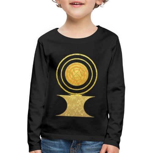 Native America Indianer Symbol Hopi ssl Sonne - Kinder Premium Langarmshirt