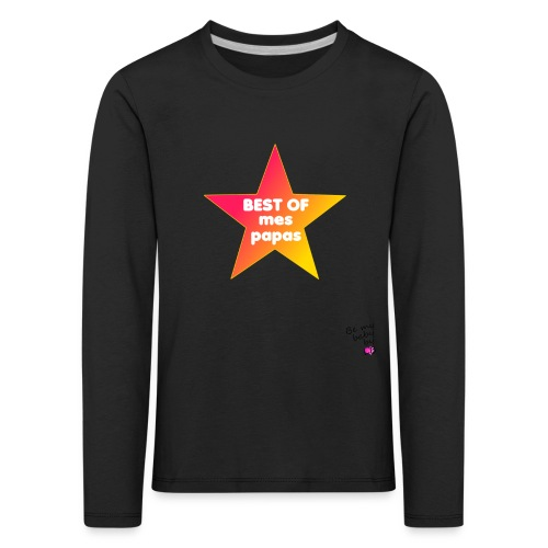 Best 2p png - T-shirt manches longues Premium Enfant
