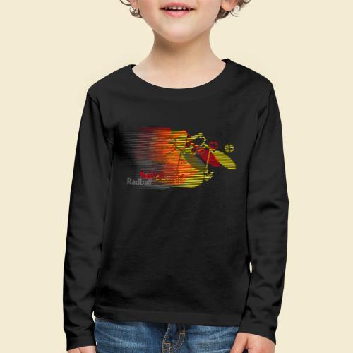 Radball   Earthquake Germany - Kinder Premium Langarmshirt