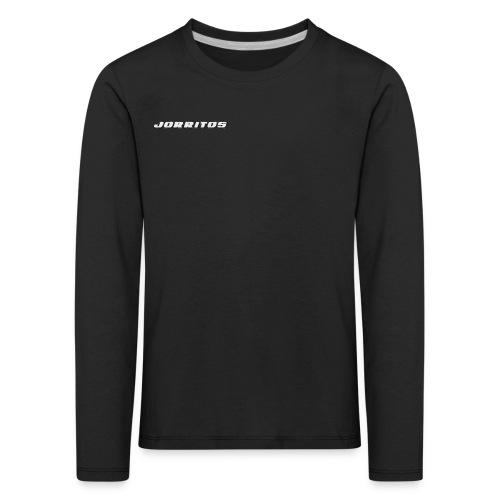 Logo Jorritos - Kinderen Premium shirt met lange mouwen