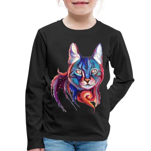Dulce gatito - Camiseta de manga larga premium niño