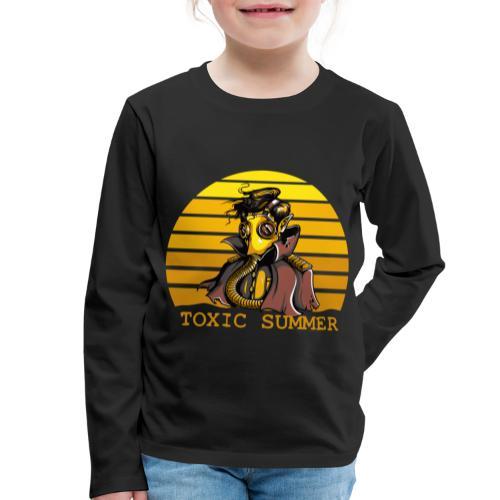Toxic Summer - Camiseta de manga larga premium niño