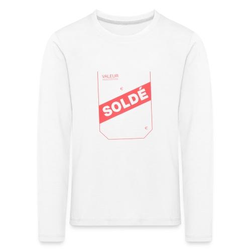 soldé - T-shirt manches longues Premium Enfant