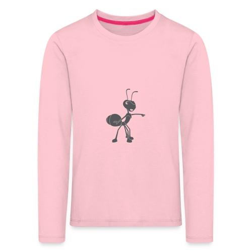 Mier wijzen - Kinderen Premium shirt met lange mouwen