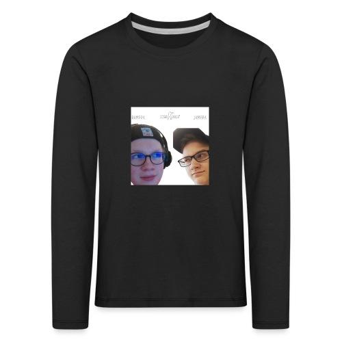 Ramppa & Jamppa - Lasten premium pitkähihainen t-paita