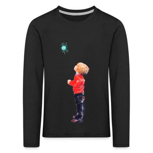 The Boy and the Blue - Kids' Premium Longsleeve Shirt