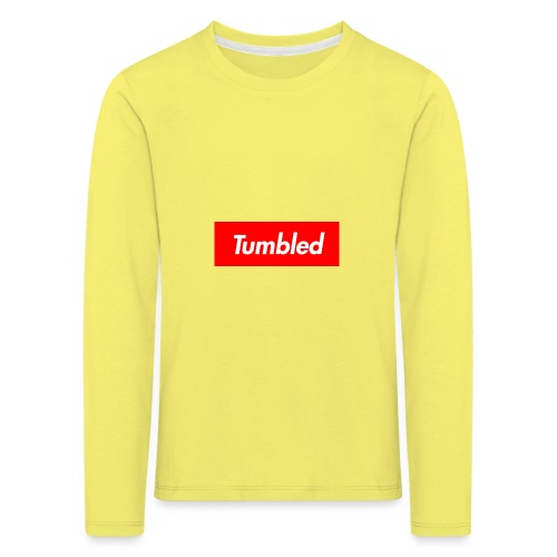 Tumbled Official - Kids' Premium Longsleeve Shirt
