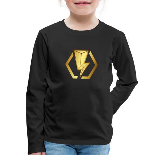 00405 Blitz dorado - Camiseta de manga larga premium niño
