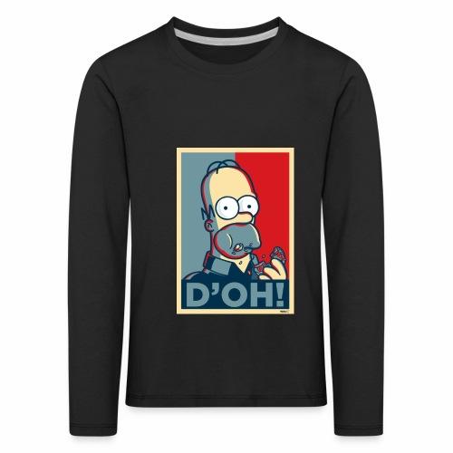 Homer Donuts - T-shirt manches longues Premium Enfant
