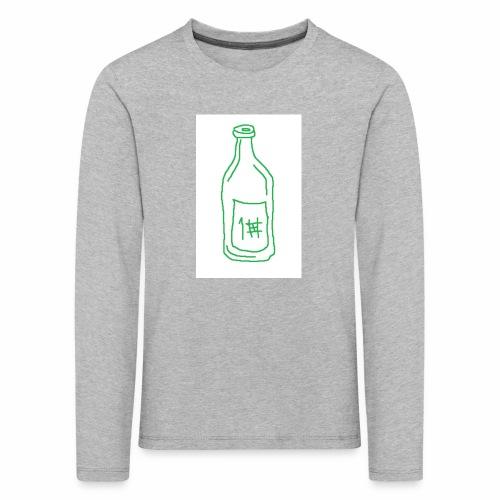Alkoholi - Lasten premium pitkähihainen t-paita