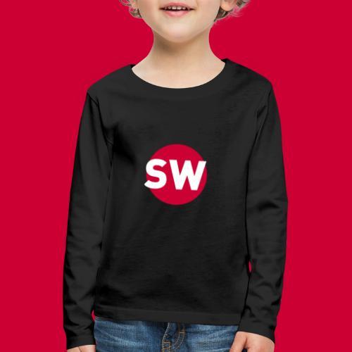 SchipholWatch - Kinderen Premium shirt met lange mouwen