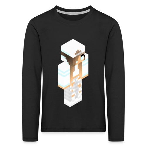 konijntjespower png - Kinderen Premium shirt met lange mouwen