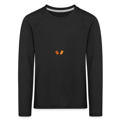HB GOLD/BRAUN - Kinder Premium Langarmshirt