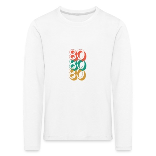For The Love of The 80's - Kids' Premium Longsleeve Shirt