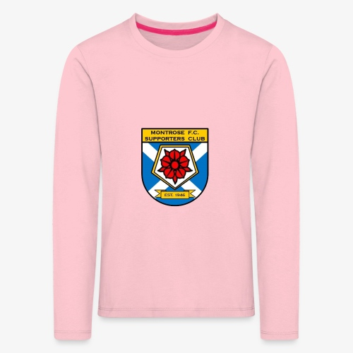 Montrose FC Supporters Club - Kids' Premium Longsleeve Shirt