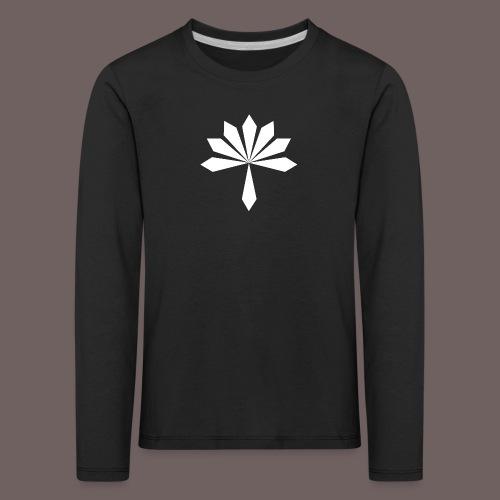 GBIGBO zjebeezjeboo - Rock - Fleur - T-shirt manches longues Premium Enfant