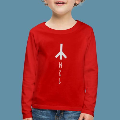 Logo Hel 02 copia png - Maglietta Premium a manica lunga per bambini