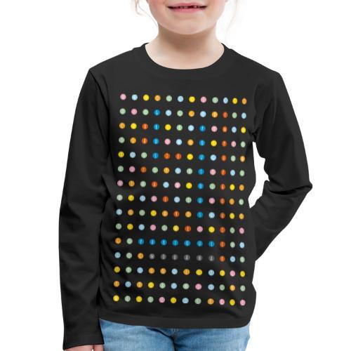 LES MOTS BLEUS adulte - T-shirt manches longues Premium Enfant