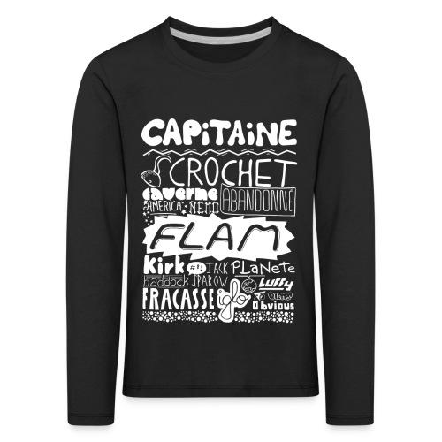 capitaine-blanc Tee shirts - T-shirt manches longues Premium Enfant