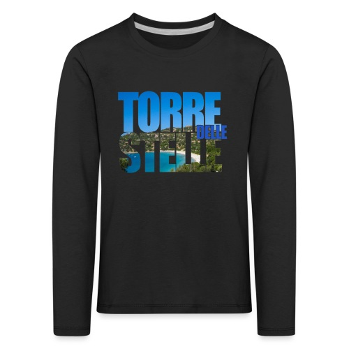 TorreTshirt - Maglietta Premium a manica lunga per bambini