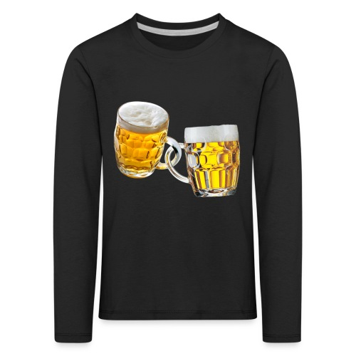 Boccali di birra - Maglietta Premium a manica lunga per bambini