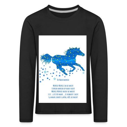 Kindershirt Nachtmerrie - Kinderen Premium shirt met lange mouwen